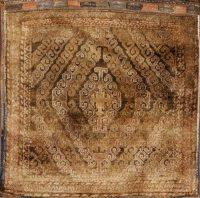 Saddle Bag Salt Bag Afghan Oriental Square Rug 3x3