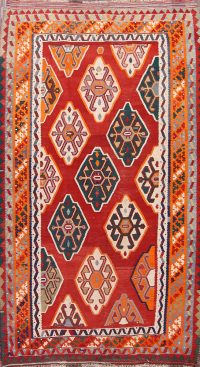5x9 Kilim Shiraz Persian Area Rug