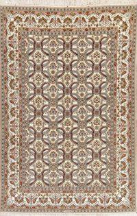 Masterpiece Wool/Silk Isfahan Persian Area Rug 8x12