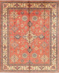 Geometric Super Kazak Pakistan Wool Rug 8x10