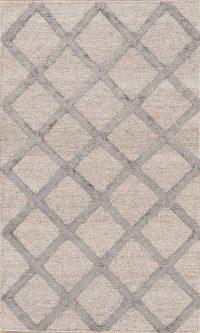 Brown Kilim Indian Oriental Wool Silk Rug