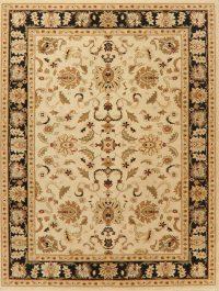 Beige Floral Classic Turkish Oriental Area Rug 8x11