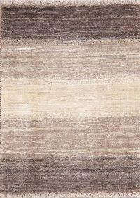 Modern Gabbeh Shiraz Persian Wool Rug 3x4