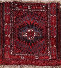 Geometric Balouch Persian Wool Rug 2x2 Square