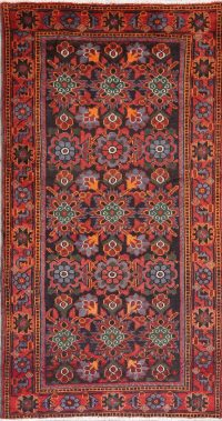 Vintage Floral Malayer Persian Wool Rug 4x7