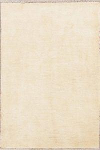 Solid Gabbeh Zollanvari Persian Wool Rug 3x5