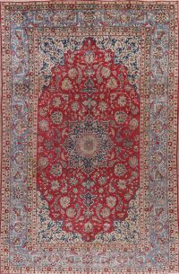Floral Red Najafabad Persian Area Rug 8x13