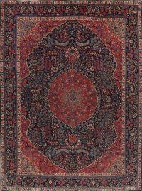 Antique Vegetable Dye Khoy Tabriz Persian Area Rug 10x13