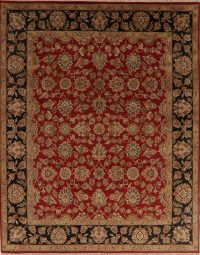 Red Floral All-Over Agra Persian Area Rug 8x10