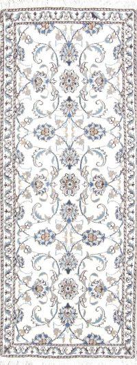 Floral 3x6 Nain Persian Rug Runner