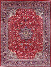 Vintage Floral Sarouk Persian Area Rug 10x13