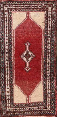 Geometric Hamedan Persian Area Rug 2x4