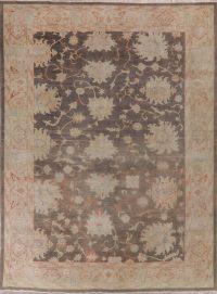 Antique Floral Oushak Oriental Area Rug 9x12