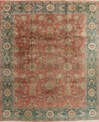 Antique Floral Tabriz Persian Area Rug 10x13