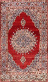 Geometric Red Mood Persian Area Rug
