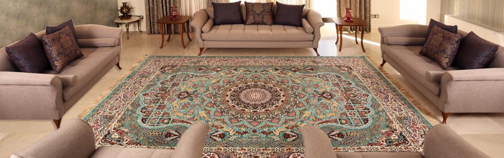 Choosing a rug for the living room
