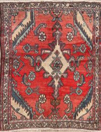 Geometric Bibikabad Persian Area Rug 3x3 Square