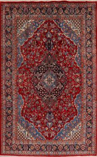 Floral Kashmar Persian Red Area Rug 7x10