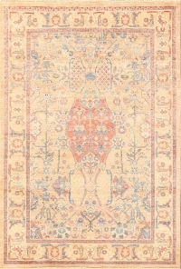 Vegetable Dye Sultanabad Ziegler Oriental Area Rug 4x6