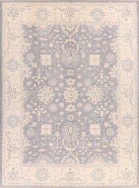 All-Over Floral Oushak Oriental Area Rug 9x12