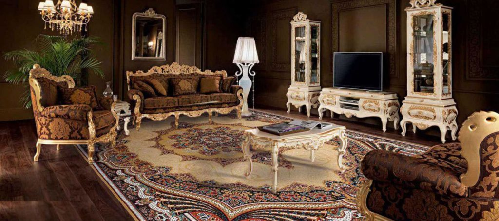 Coordination of rug selection with furniture