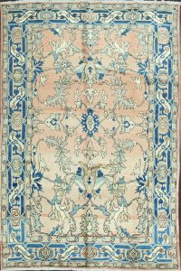 100% Vegetable Dye Heriz Serapi Persian Area Rug 7x10