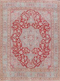 100% Vegetable Dye Antique Khoy Persian Area Rug 9x12
