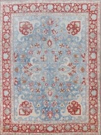 100% Vegetable Dye Antique Tabriz Persian Area Rug 9x12