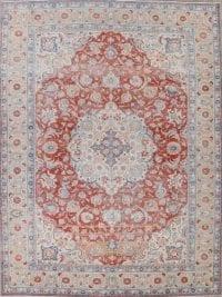 Antique Floral Tabriz Persian Area Rug 10x13
