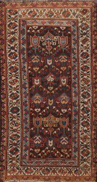 Pre-1900 Antique Kazak Oriental Area Rug 3x6