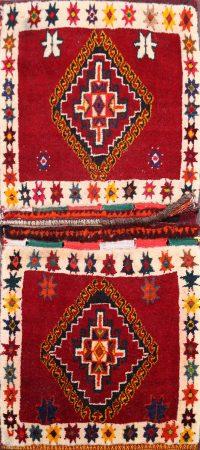 Tribal Saddle Bag Oriental Area Rug 2x3
