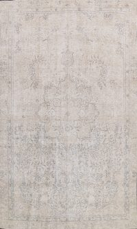 Vintage Distressed Oriental Area Rug 9x12
