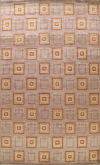 Geometric Gabbeh Kashkoli Oriental Area Rug 10x14