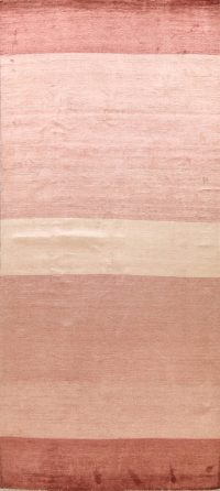 Striped Gabbeh Kashkoli Oriental Runner Rug 8x16