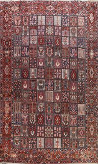 100% Vegetable Dye Antique Bakhtiari Persian Area Rug 12x16