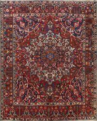 100% Vegetable Dye Bakhtiari Persian Area Rug 10x10 Square