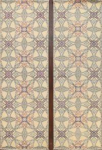 Vegetable Dye All-Over Abstract Oriental Runner Rug 3x10